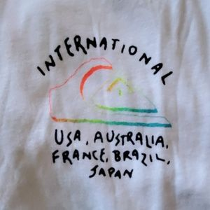 BRAND NEW QUIKSILVER WORLD FORCE T SHIRT